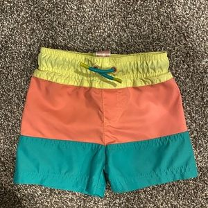 Cat and jack toddler boy swim trunks 18 months